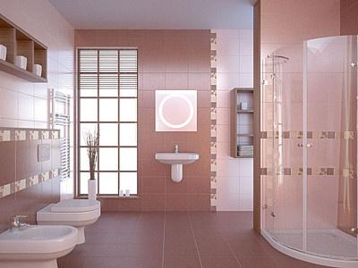 Barevné a nápadité obklady dodají interiéru jedinečný vzhled ...